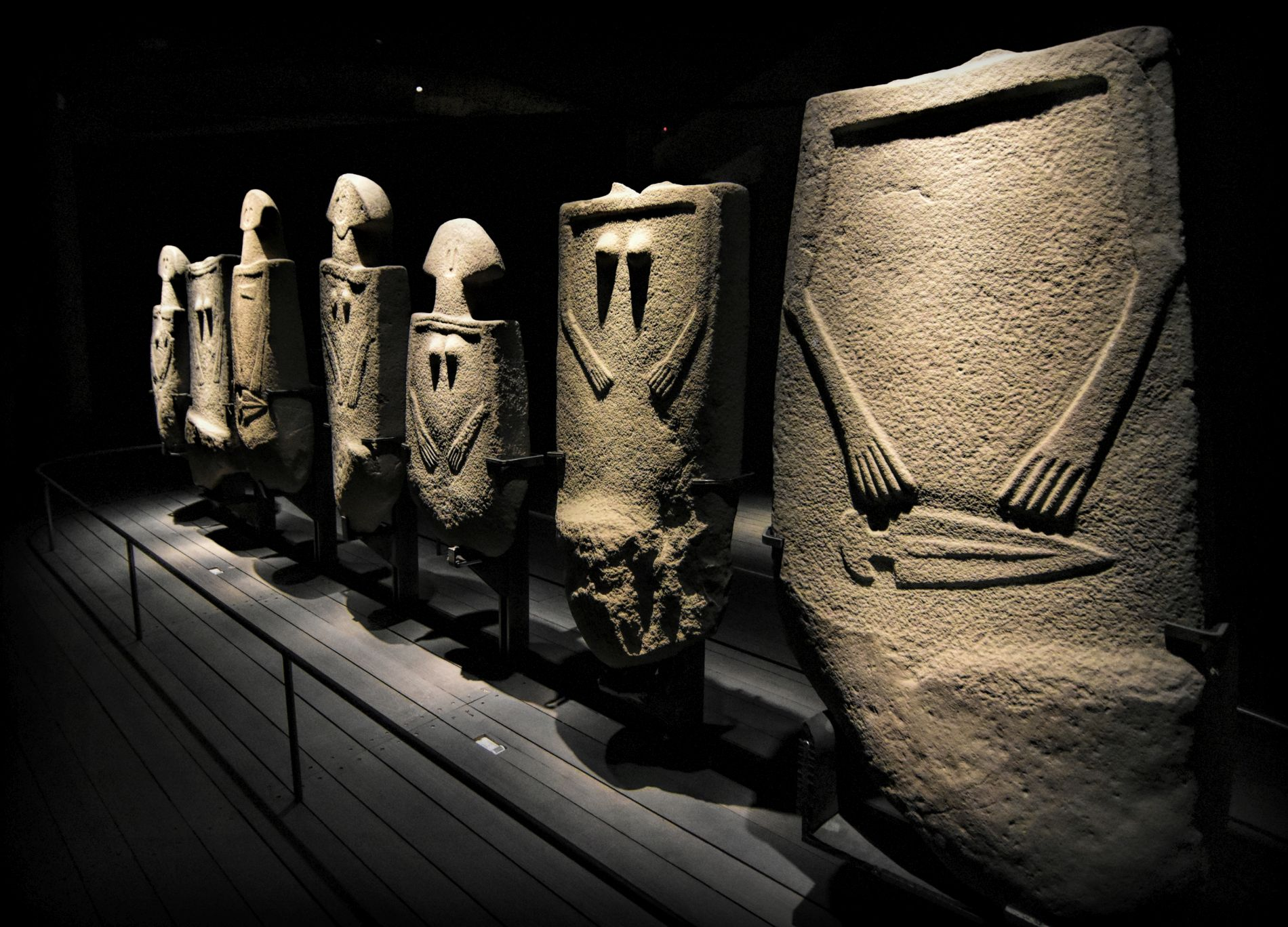 Museum of the Lungiana Stele Statues