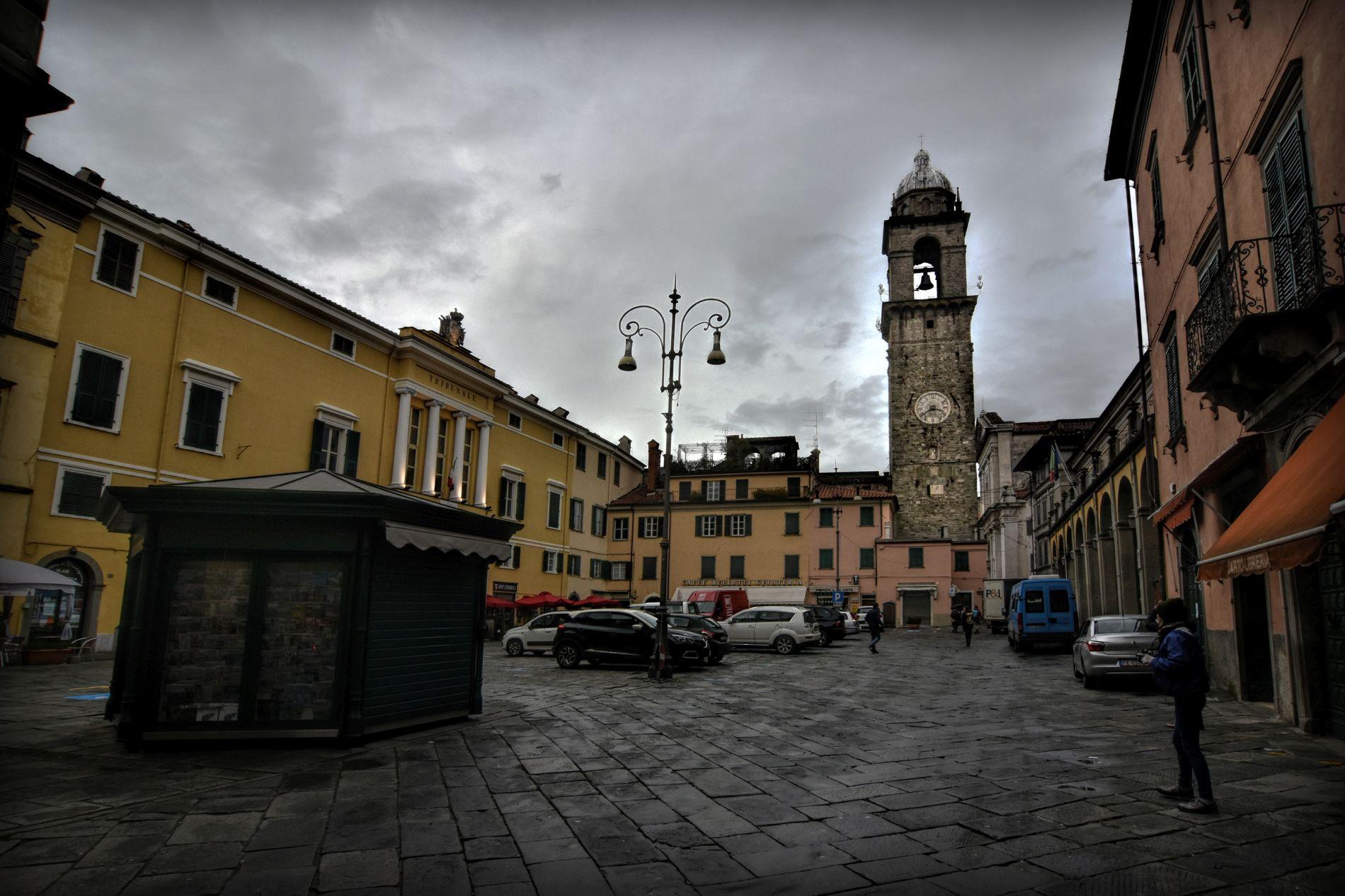 Piazza della Repubblica in Pontremoli