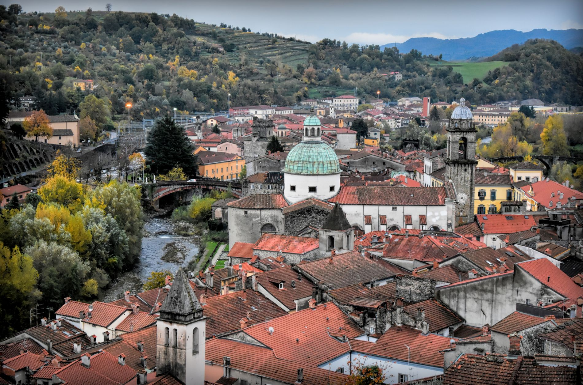 Pontremoli from above