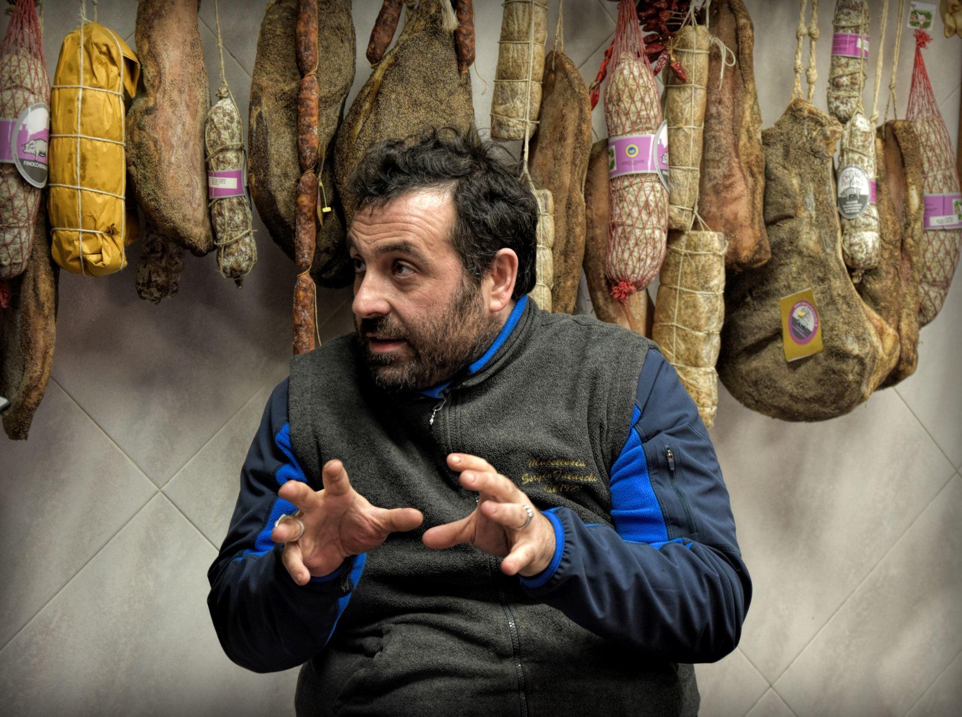 Andrea Falaschi, Macelleria Falaschi