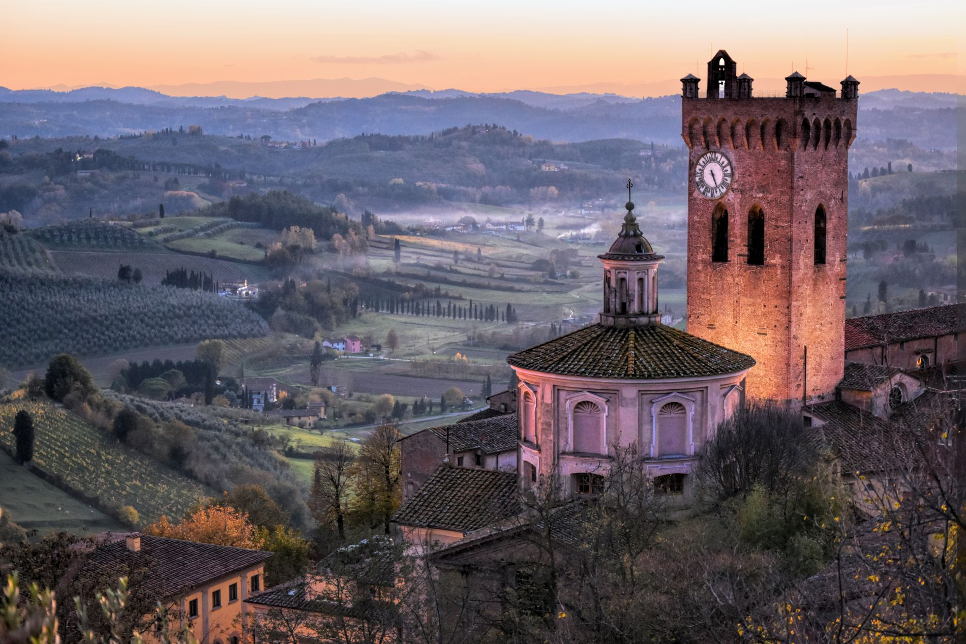 San Miniato from above
